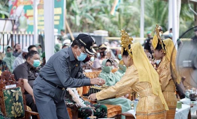 Bupati HM.Wardan Dampingi Danrem 031/Wira Bima, Resmikan Koramil 12/Bantang Tuaka