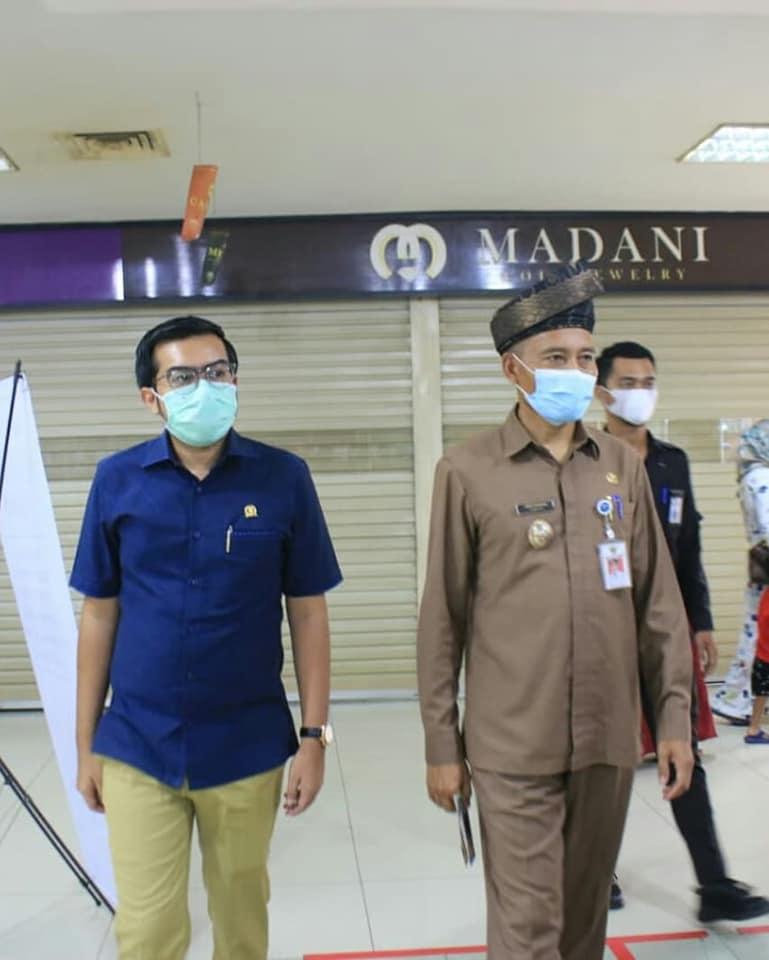 Bazar dan Pelantikan Pengurus Pekindo dihadiri Wakil ketua DPRD