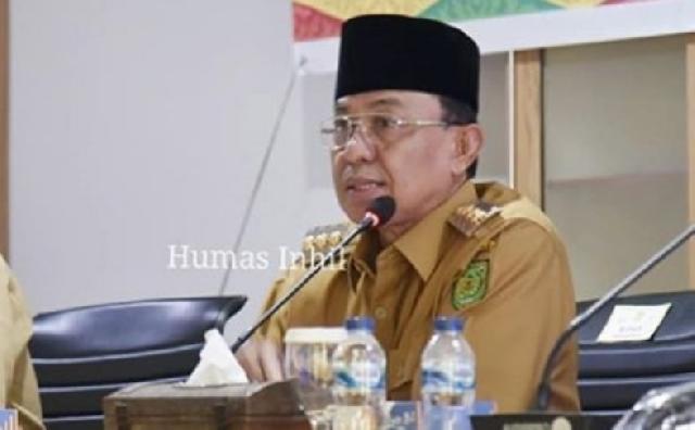 Dipimpin Bupati Wardan, Pemkab Inhil Gelar Rakor Sinergisitas Program DMIJ Plus Terintegrasi