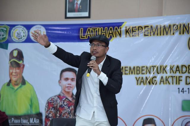 Pimpinan DPRD Bengkalis Hadiri Latihan Kepemimpinan di UIR Pekanbaru, Syahrial: Leadership Haruslah Penuh Gagasan