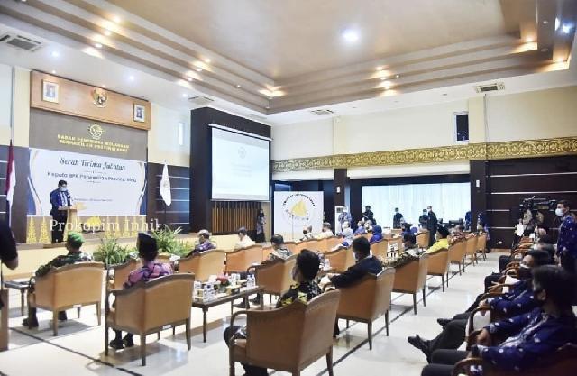 Bupati Inhil HM.Wardan Hadiri Sertijab Kepala BPK Perwakilan Provinsi Riau