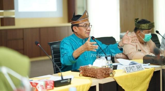 Bupati HM.Wardan Pimpin Rapat Awal Pelaksanaan MTQ Ke-50 Kabupaten Indragiri Hilir TH 2020